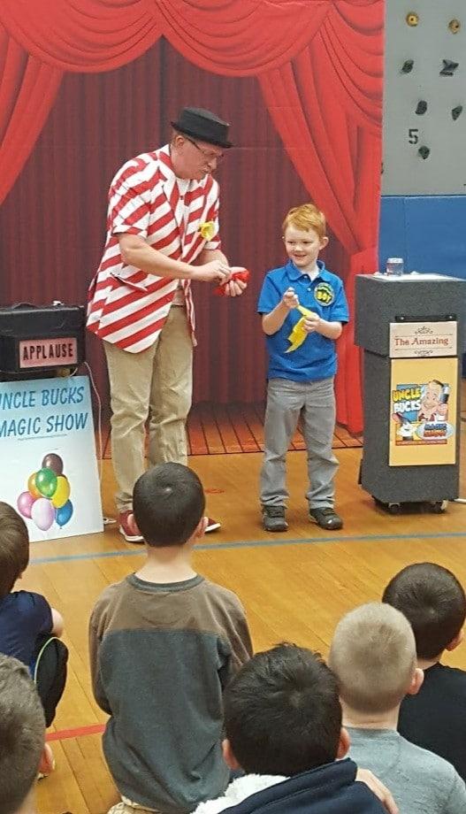 Bucks Ice Cream Truck Kids Birthday Party Magic Charlotte Nc