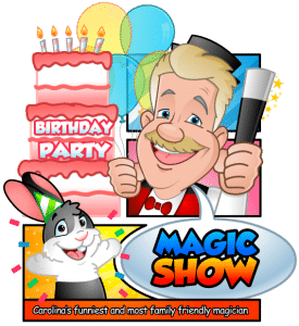 Uncle Bucks Magic Show for Kids Birthday Parties Charlotte NC
